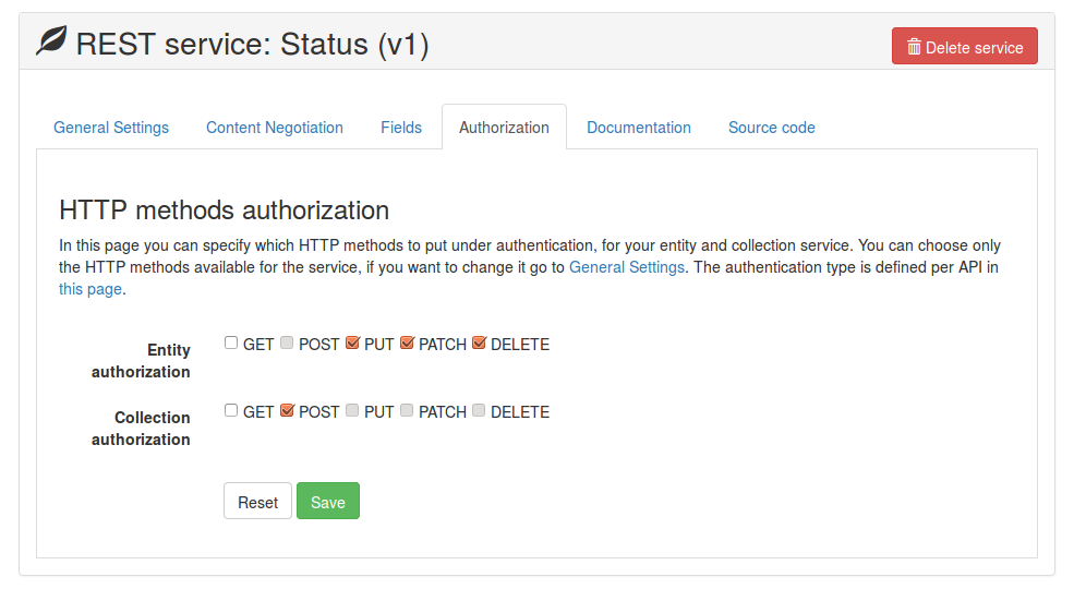 Authorization - Complete
